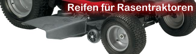 Reifen für Rasentraktoren